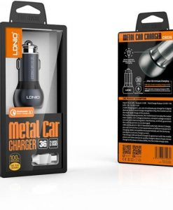 LDNIO Metal Car Charger